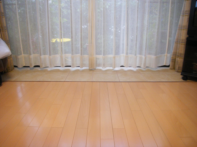 リビングの床部分リフォーム2