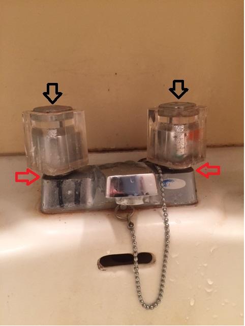 給排水水栓からの漏水