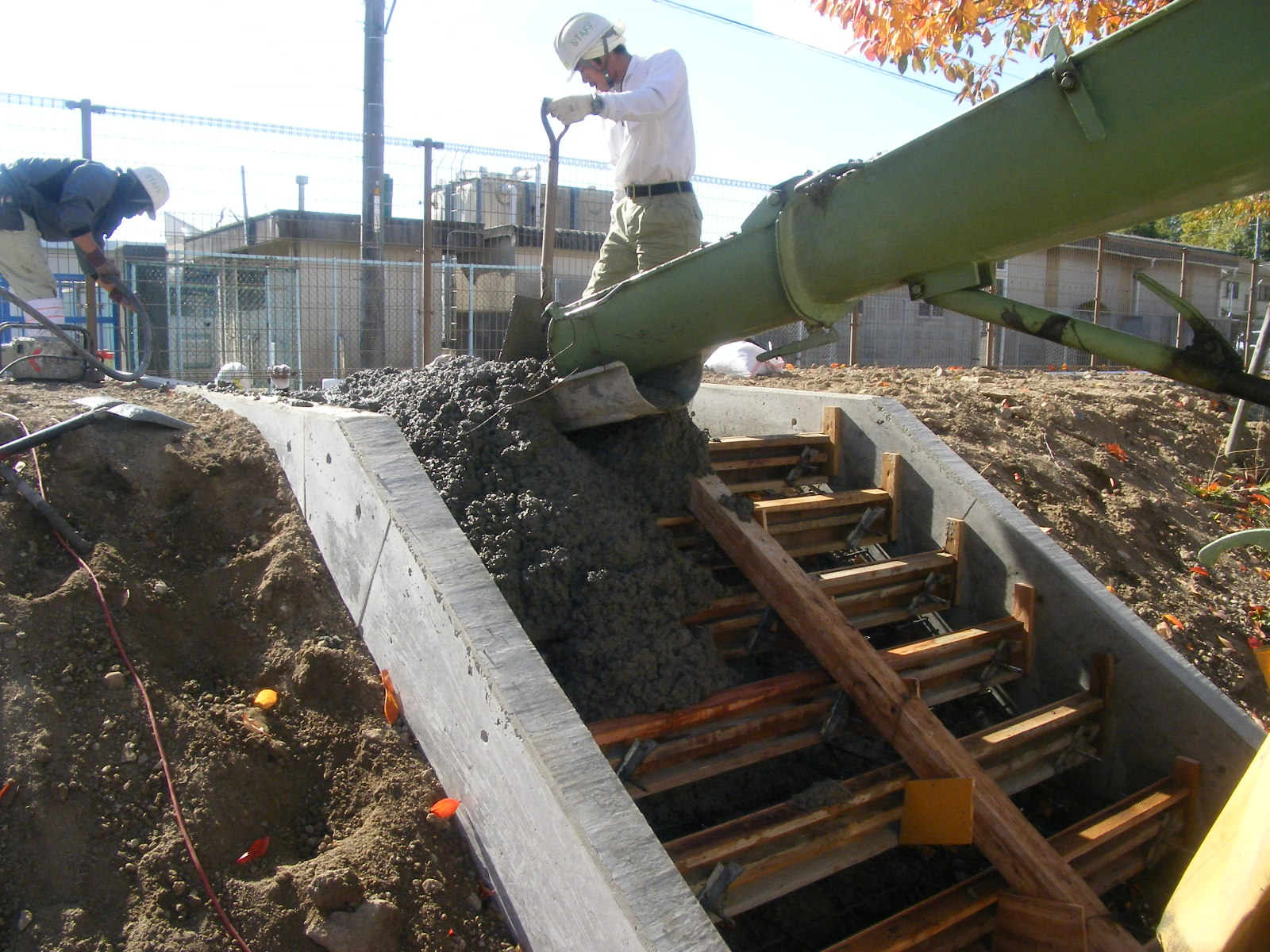 コンクリートの階段を作る2