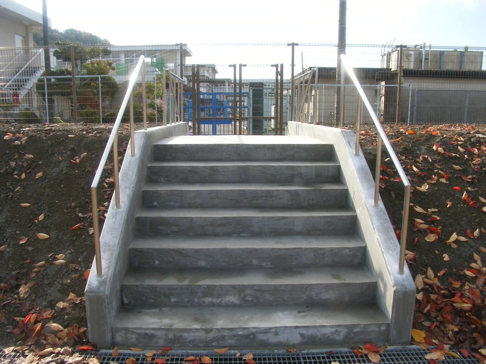 コンクリートの階段を作る3
