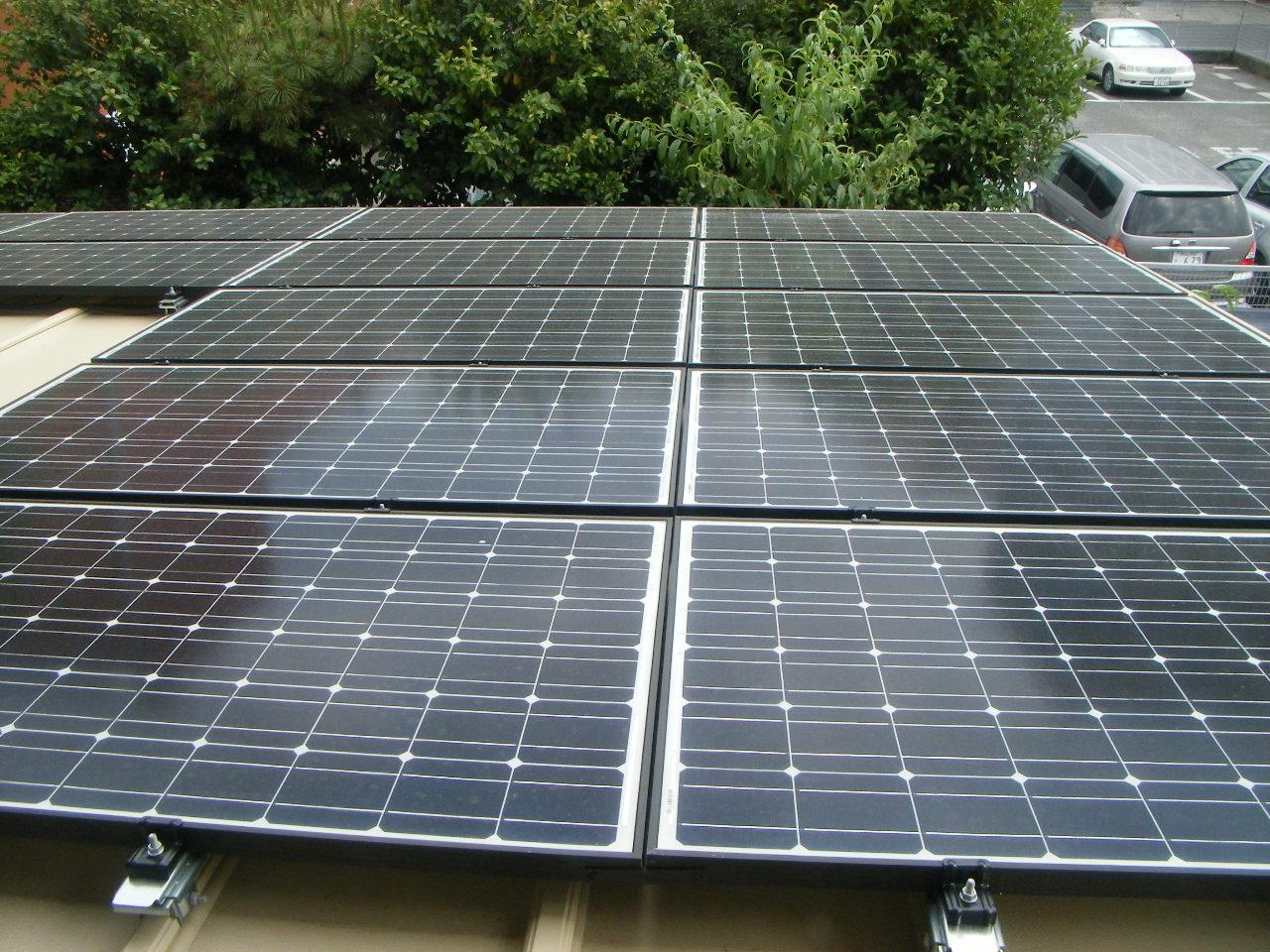 太陽光発電工事2