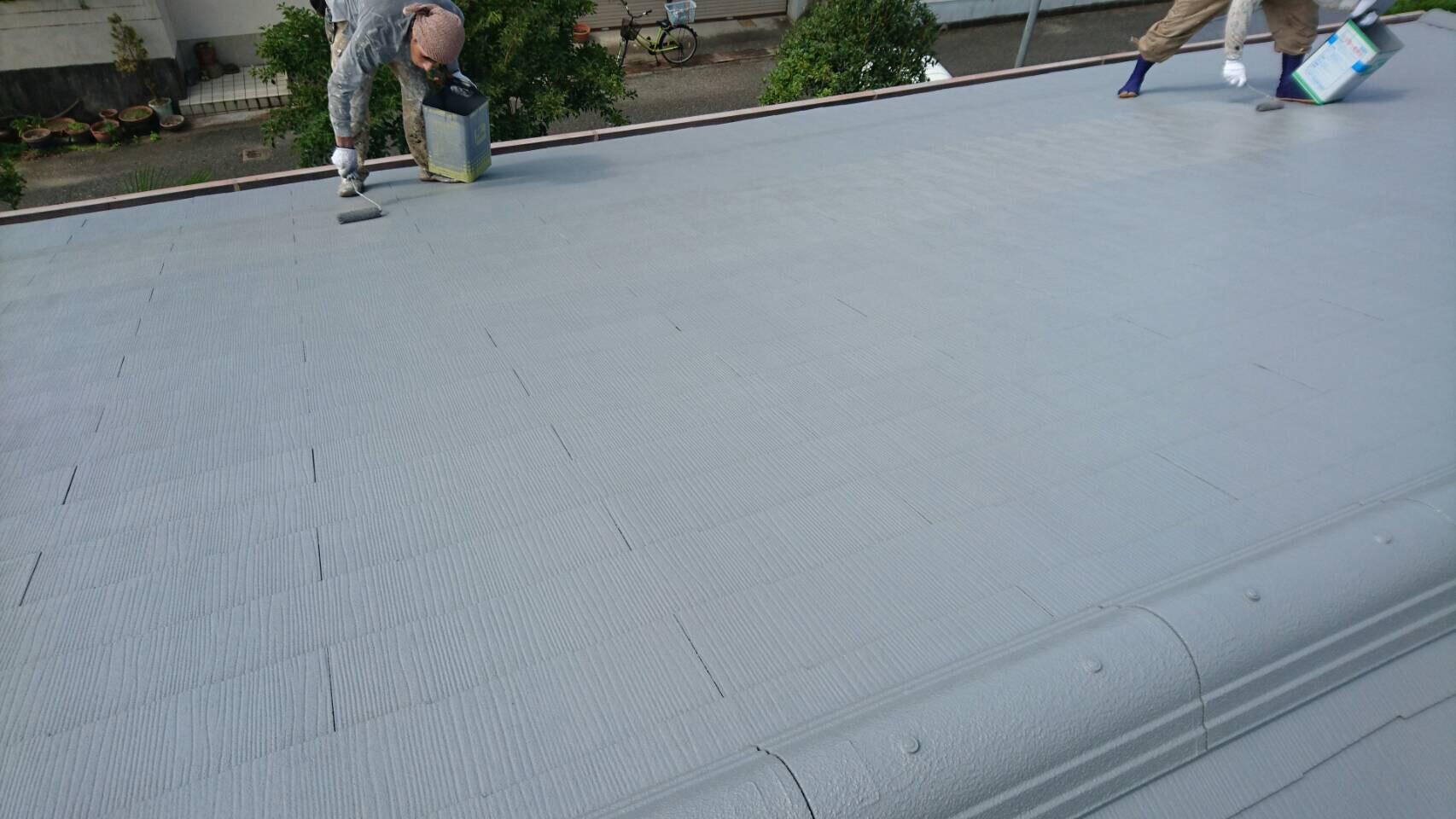 屋根塗り替え3